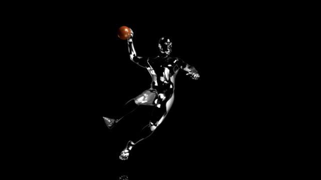 3d handball man - record breaking stock videos & royalty-free footage