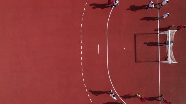 handball team practicing offense - offense sporting position stock videos and b-roll footage