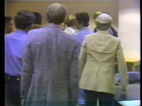handcuffed kennethêbianchiêwalks through the courtroom inêbellingham, washington. - throttle stock videos & royalty-free footage