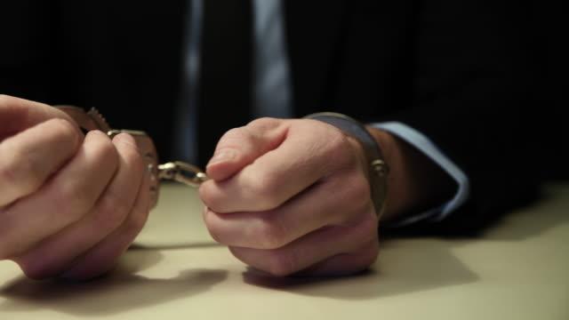 手錠 - 誘拐事件点の映像素材/bロール