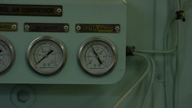 handheld shot of water and oil gauge - positive emotion stock videos & royalty-free footage
