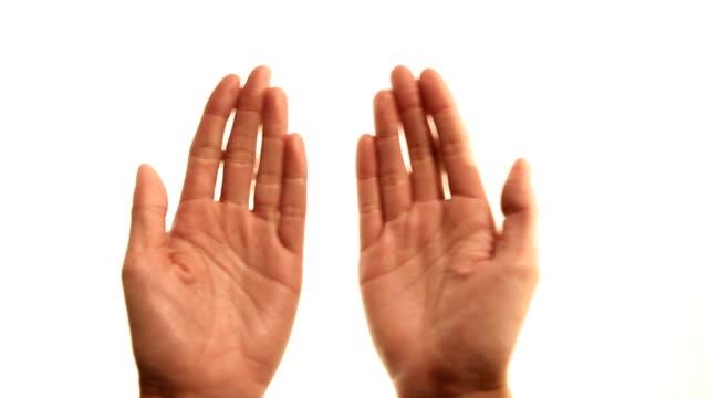 Hands: book gestures