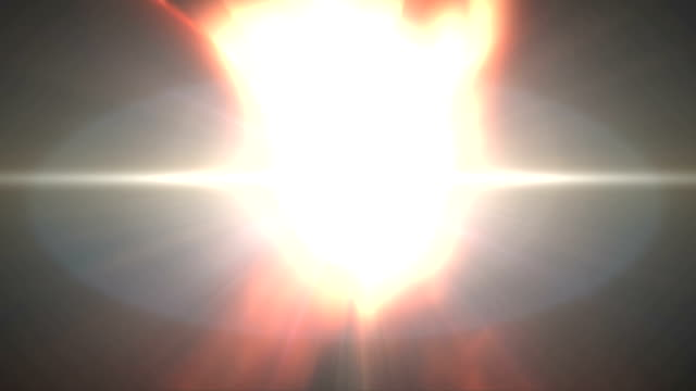 Hands of Light Opening with Rays. HD