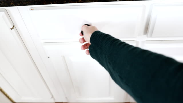 hands opening and closing drawer - drawer stock videos & royalty-free footage