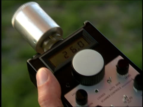 hands operate dials on a radio control device. - electronic organiser stock videos & royalty-free footage