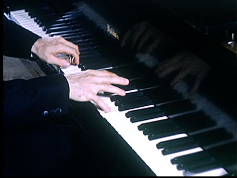cu, hands playing baldwin piano, oklahoma, usa - classical stock videos & royalty-free footage