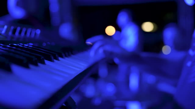 hands playing the white piano stock video - piano key stock videos & royalty-free footage