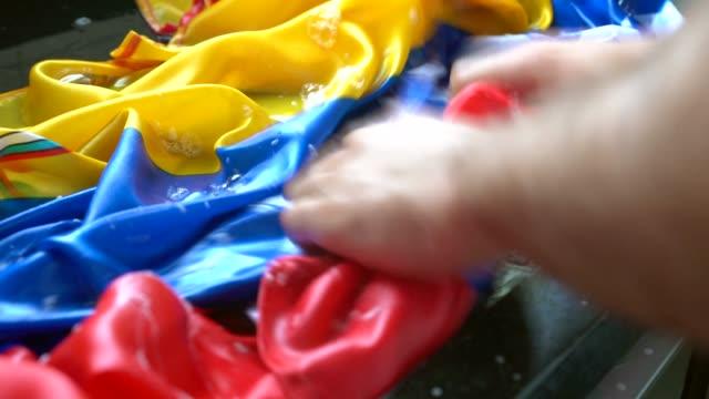 Hands Washing Venezuelan Flag - Change Venezuela/Corruption Concept