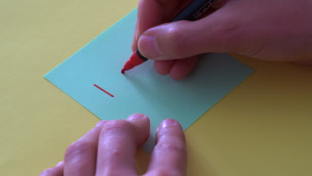 """hands writing """"i love you"""" note - i love you stock videos & royalty-free footage"""