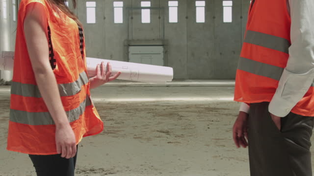 Handshake Between Civil Engineer