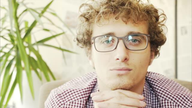 Handsome men portrait.