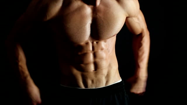 Gut aussehend muskuläre Herren