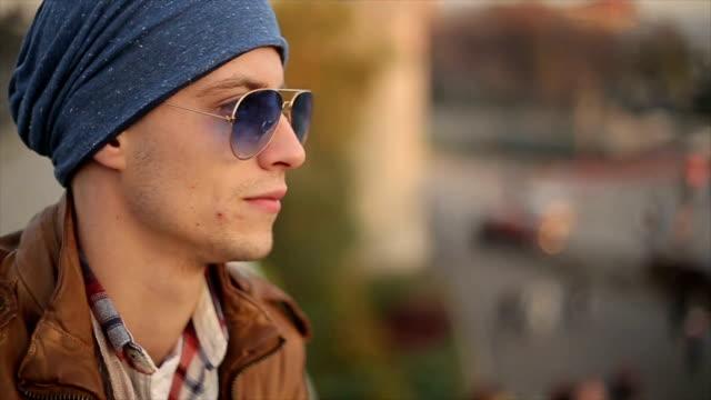 hübscher junger Mann, portrait