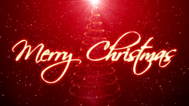 handwritten merry christmas - text stock videos & royalty-free footage