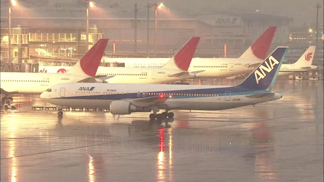 haneda airport - western script stock videos & royalty-free footage