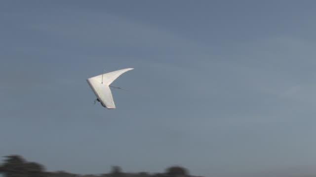 Hang Glider Crash Landing (HD Video)