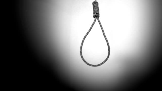 hanging gallows - hanging execution stock videos & royalty-free footage