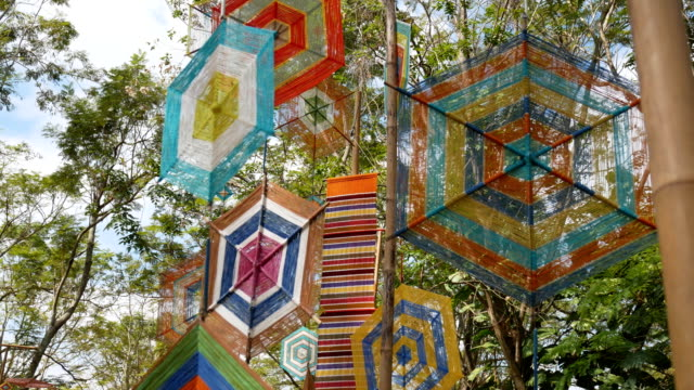 hanging mobile rural scene.art - hanging mobile stock videos & royalty-free footage