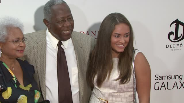 hank aaron at 'the butler' new york premiere in new york ny on 8/5/13 - hank aaron stock videos & royalty-free footage