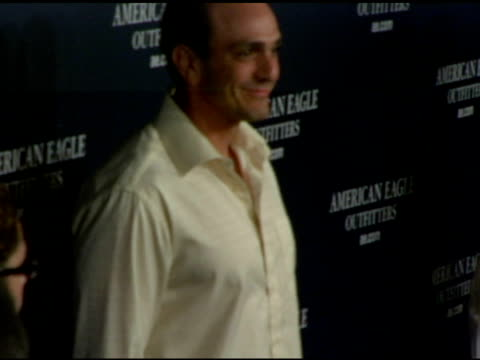 hank azaria at the back to school tailgate party arrivals by american eagle outfitters at hollywood lot in hollywood california on august 24 2004 - american eagle outfitters stock videos & royalty-free footage