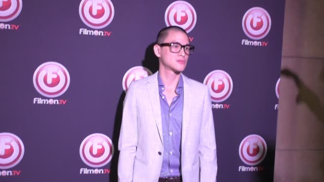 Hank Chen at the Bob Thunder Internet Assassin Premiere at Egyptian Theatre in Hollywood at Celebrity Sightings in Los Angeles on October 27 2015 in...