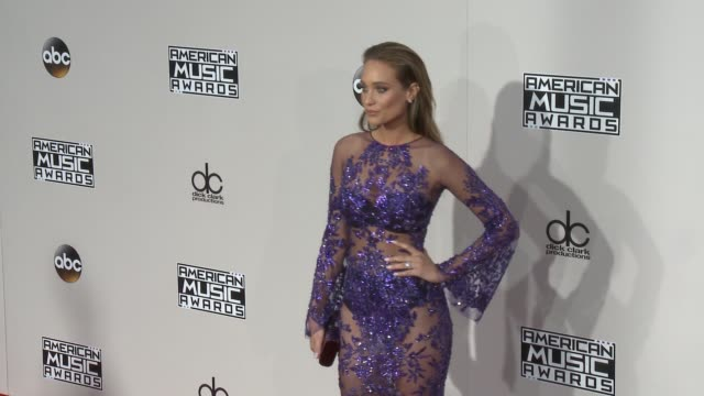 Hannah Davis at 2016 American Music Awards at Microsoft Theater on November 20 2016 in Los Angeles California
