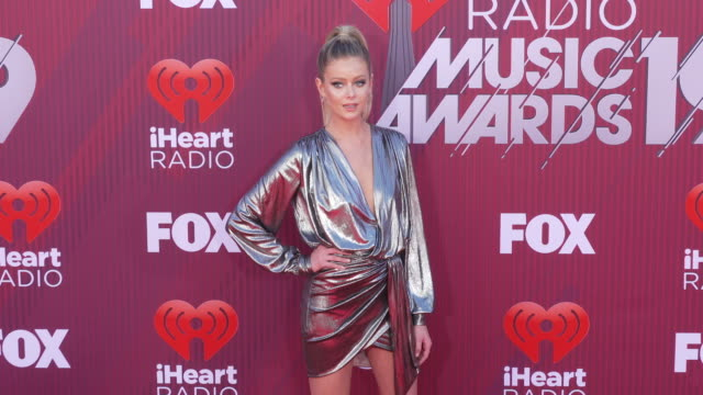 Hannah G at the 2019 iHeartRadio Music Awards at Microsoft Theater on March 14 2019 in Los Angeles California