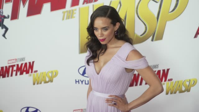 Hannah JohnKamen at the AntMan and the Wasp World Premiere at the El Capitan Theatre on June 25 2018 in Hollywood California