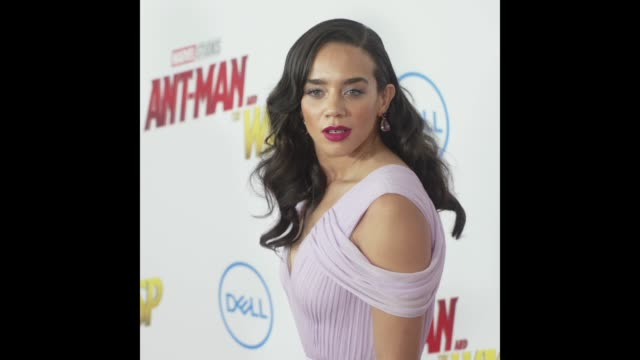 Hannah JohnKamen at the 'AntMan and the Wasp' World Premiere