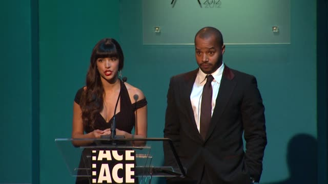 Hannah Simone Donald Faison at 62nd Annual ACE Eddie Awards on 2/18/12 in Los Angeles CA