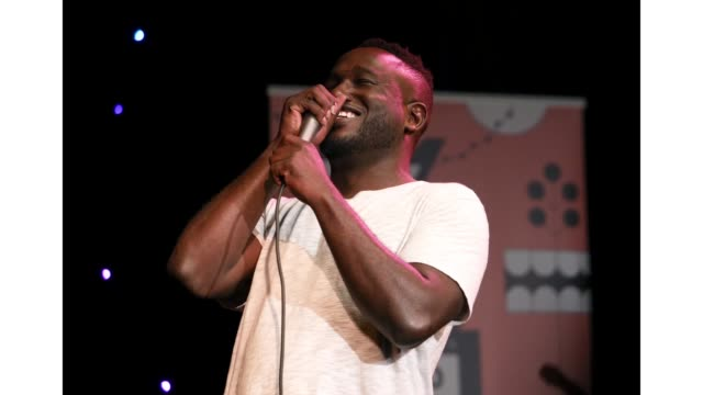 Hannibal Buress speaks onstage at 'The New Negroes with Baron Vaughn and Open Mike Eagle' during the 2019 SXSW Conference and Festivals at Esther's...