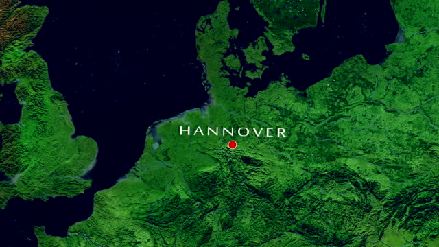 hannover-zoom in - heranzoomen stock-videos und b-roll-filmmaterial