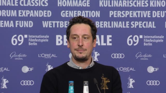 Hans Löw attends 'All My Loving' press conference during the 69th Berlinale International Film Festival Berlin at Grand Hyatt Hotel on February 09...