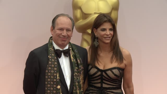 Hans Zimmer at the 87th Annual Academy Awards Arrivals at Dolby Theatre on February 22 2015 in Hollywood California