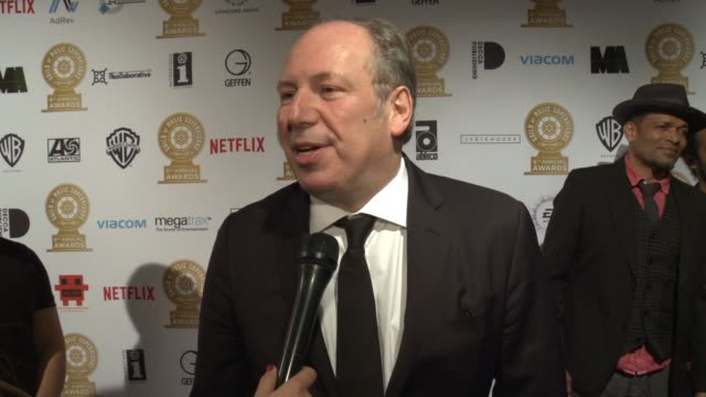 INTERVIEW Hans Zimmer on the event at 8th Annual Guild of Music Supervisors Awards in Los Angeles CA