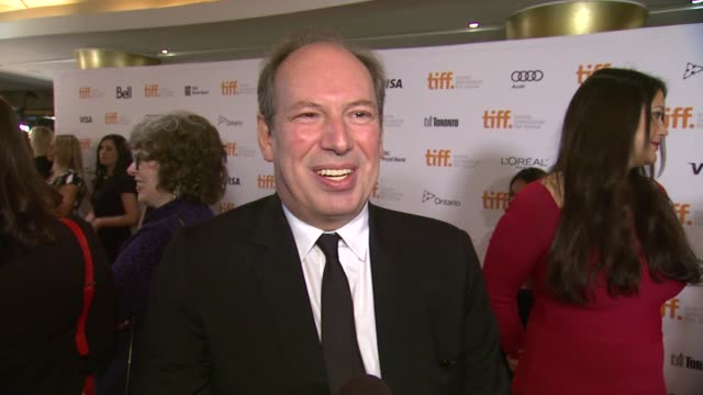 INTERVIEW Hans Zimmer on the film at '12 Years A Slave' Premiere 2013 Toronto International Film Festival on 9/6/2013 in Toronto Canada