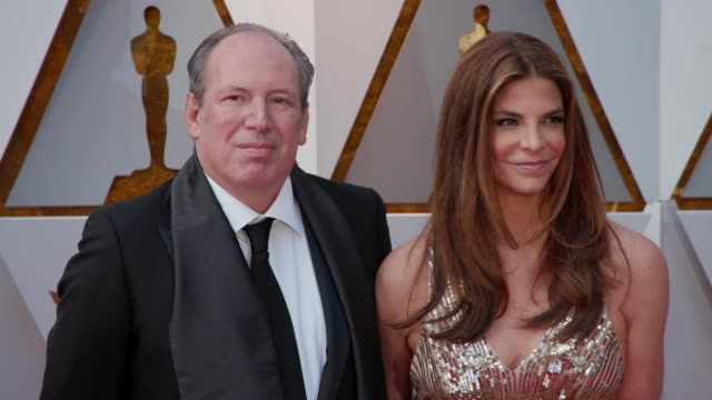 Hans Zimmer Suzanne Zimmer at the 90th Academy Awards Arrivals at Dolby Theatre on March 04 2018 in Hollywood California