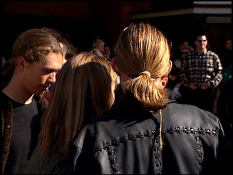 Hanson at the 'Jack Frost' Premiere at the Bruin Theatre in Westwood California on December 5 1998