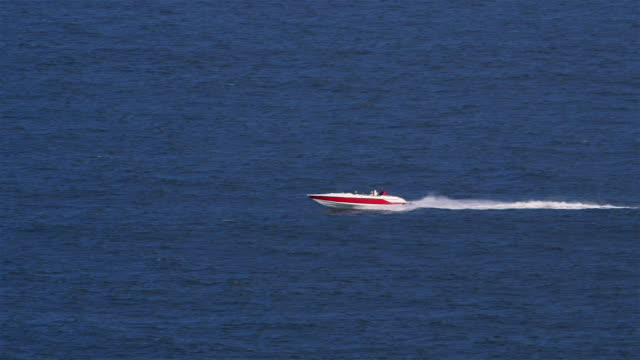 happenings in the north sea - speed boat stock videos & royalty-free footage