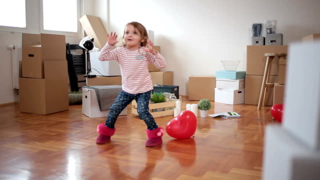 happiest child around - relocation stock videos & royalty-free footage