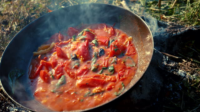 happiness is the smell of homemade food - cooking pan stock videos & royalty-free footage