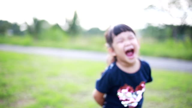 happy asian girl, laugh - pulling funny faces stock videos & royalty-free footage