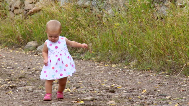 happy baby girl - one baby girl only stock videos & royalty-free footage