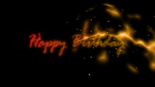 happy birthday animation - adobe after effects stock videos and b-roll footage