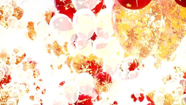 happy birthday balloons - birthday background stock videos & royalty-free footage