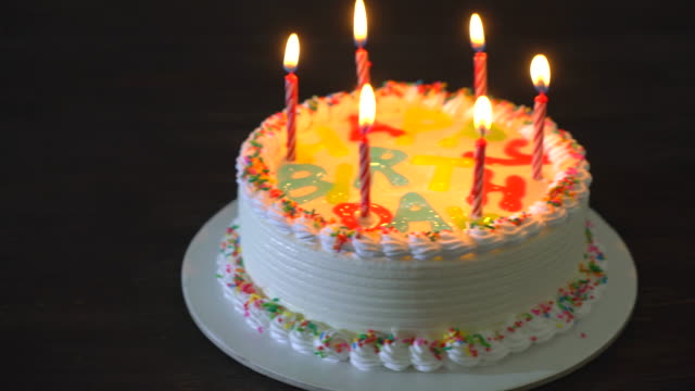 80 Top Birthday Cake Video Clips Footage