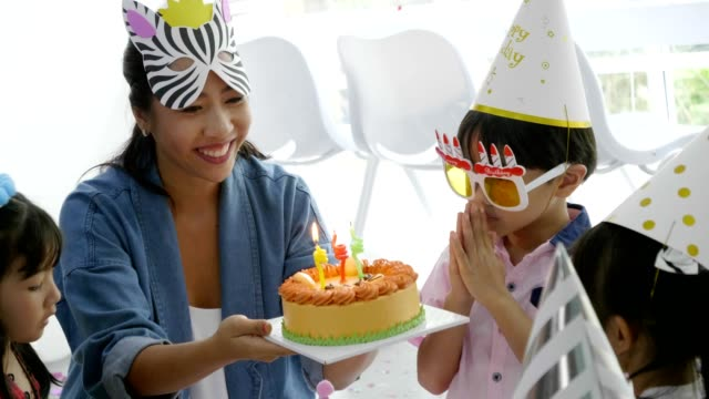 happy birthday party - anniversary stock videos & royalty-free footage