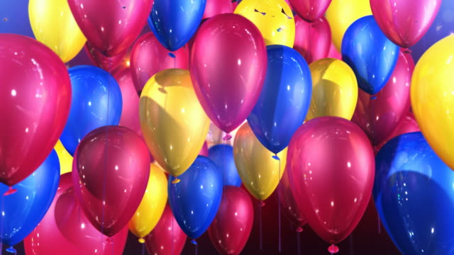 hd: happy birthday suprise animation - birthday stock videos & royalty-free footage