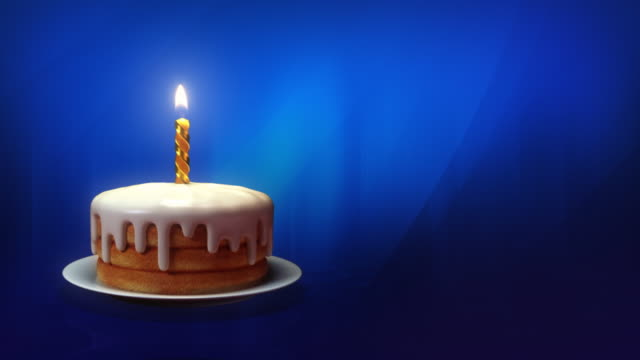 happy birthday! - candle stock videos and b-roll footage