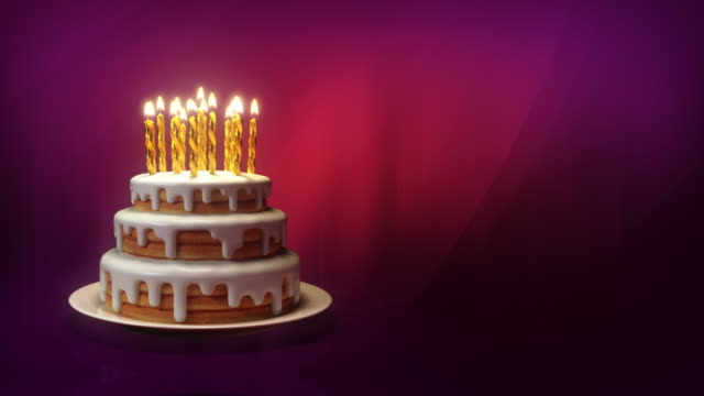 buon compleanno! - compleanno video stock e b–roll